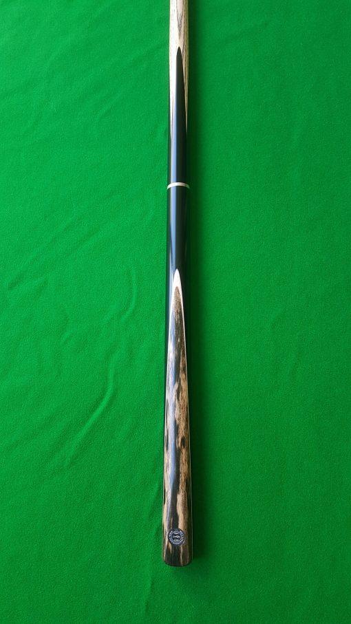 58 Three Quarter Black Foxwood Ebony Snooker Cue 3- CBA23