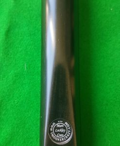 58 Three Quarter Ebony Butt Snooker Cue 1 1 - CBA27
