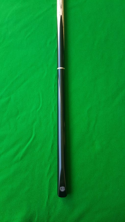 58 Three Quarter Ebony Butt Snooker Cue 3 2 - CBA29