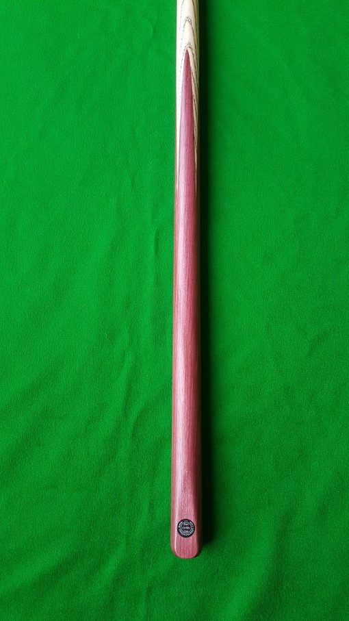 57 1 Piece Purple Heart Snooker Cue CBA41 2