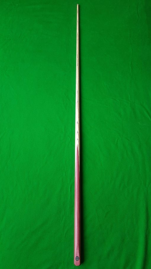 57 1 Piece Purple Heart Snooker Cue CBA41 4
