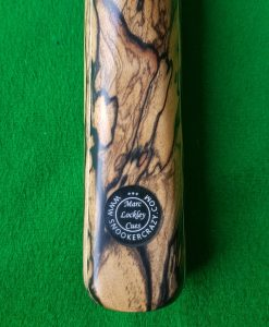 58 1 Piece Ebony Pale Moon Snooker Cue CBA38 1