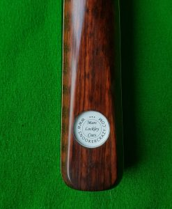 58 1 Piece Ebony Snakewood Snooker Cue CBA40 1