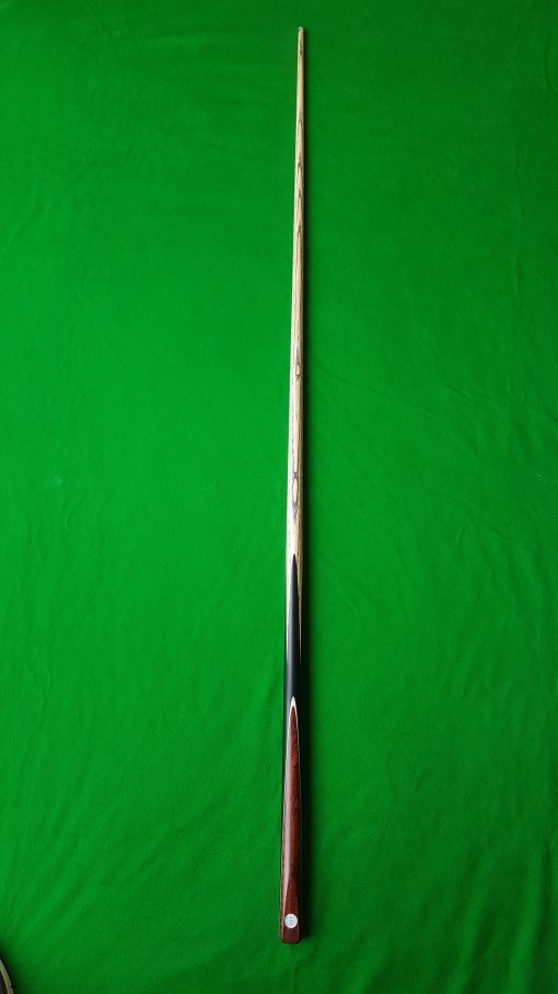 58 1 Piece Ebony Snakewood Snooker Cue CBA40 4