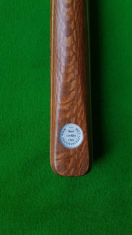58 1 Piece Leopard Wood Snooker Cue CBA37 1
