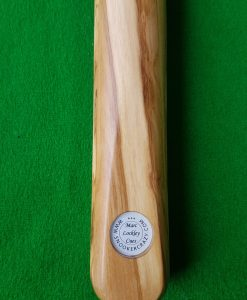 58 1 Piece Olive Wood Snooker Cue CBA36 1