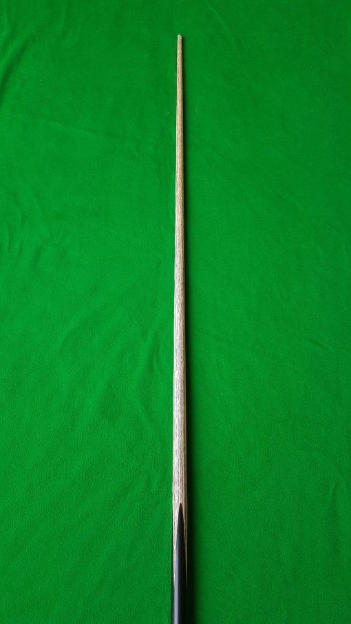 58 Three Quarter Ebony Black Foxwood Snooker Cue CBA10 4