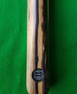 58 Three Quarter Ebony Pale Moon Snooker Cue CBA39 2