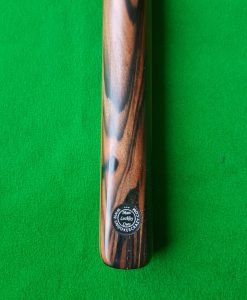 58 Three Quarter Stripped Ebony Snooker Cue CBA32 1