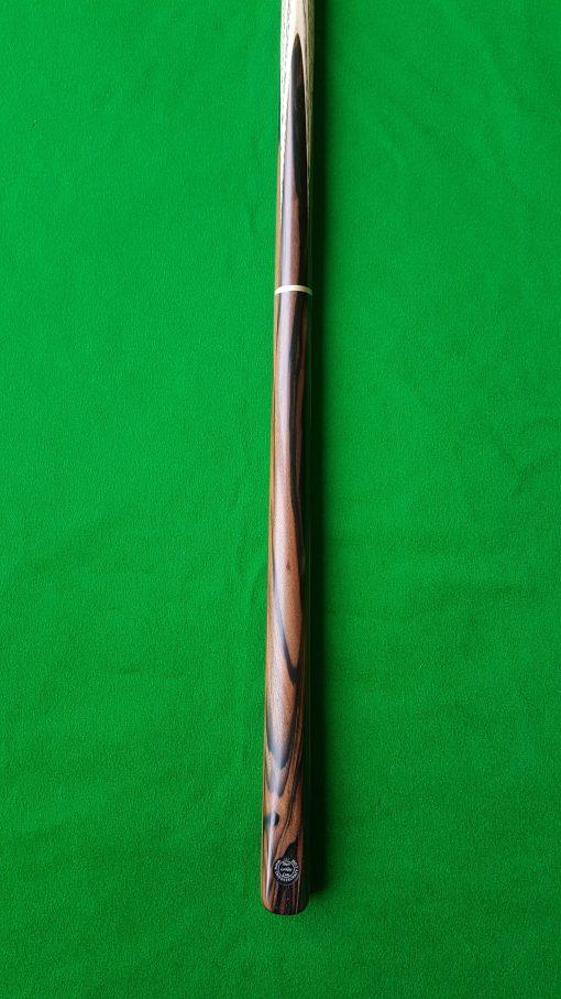 58 Three Quarter Stripped Ebony Snooker Cue CBA32 2