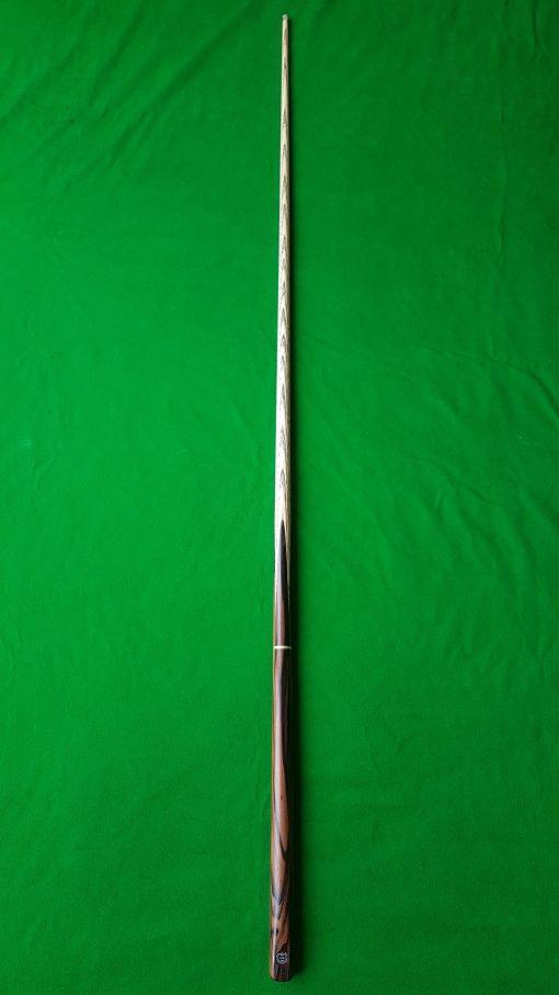 58 Three Quarter Stripped Ebony Snooker Cue CBA32 3