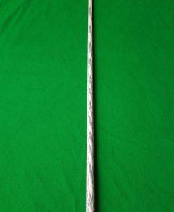 58 Three Quarter Stripped Ebony Snooker Cue CBA32 4