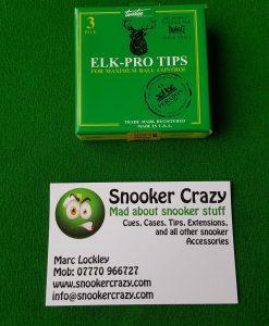Elk Pro Snooker Cue Tips 5