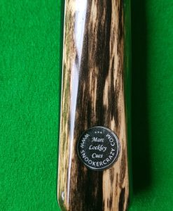 1 Piece Ebony Black Foxwood Snooker Cue 1