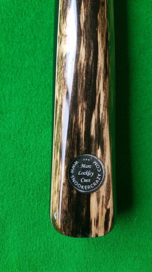1 Piece Ebony Black Foxwood Snooker Cue 1