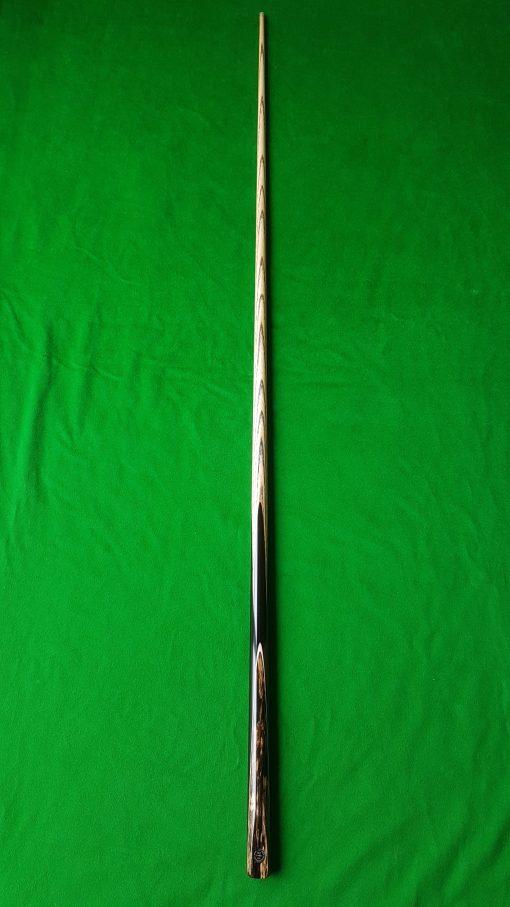 1 Piece Ebony Black Foxwood Snooker Cue 2