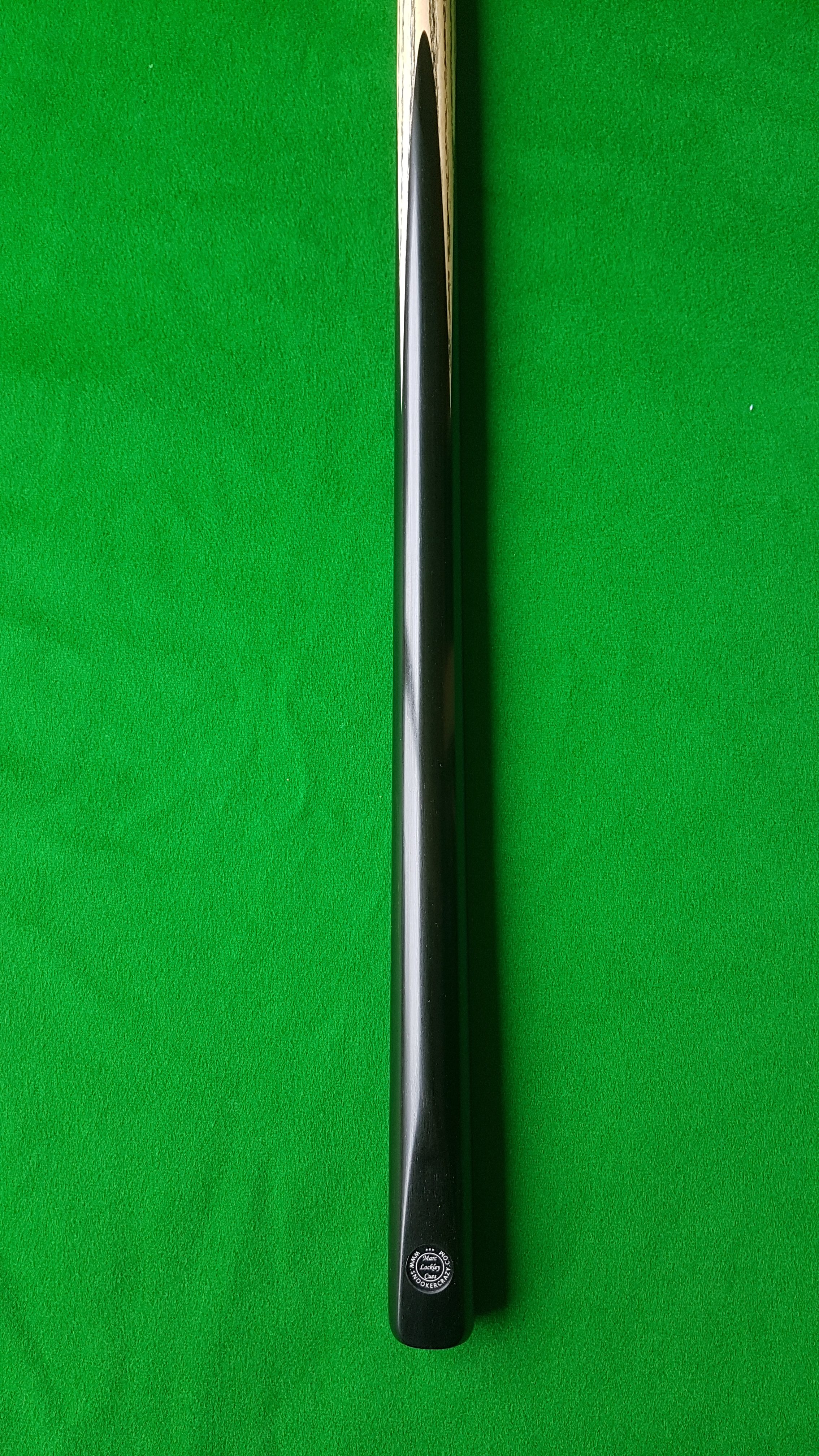 56 1 Piece Ebony Snooker Cue