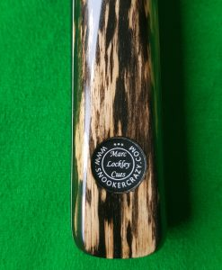 57 One Piece Black Foxwood Snooker Cue 1