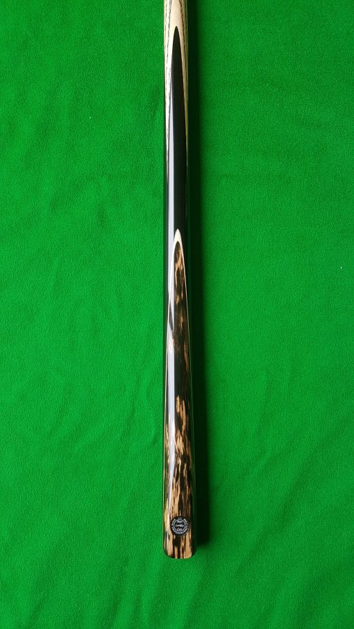 57 One Piece Black Foxwood Snooker Cue 2