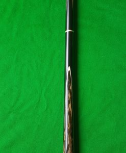 57 Three Quarter Black Foxwood Ebony Snooker Cue 1