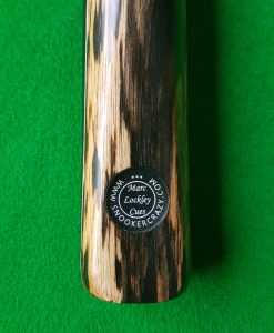 57 Three Quarter Black Foxwood Ebony Snooker Cue CBA23 1