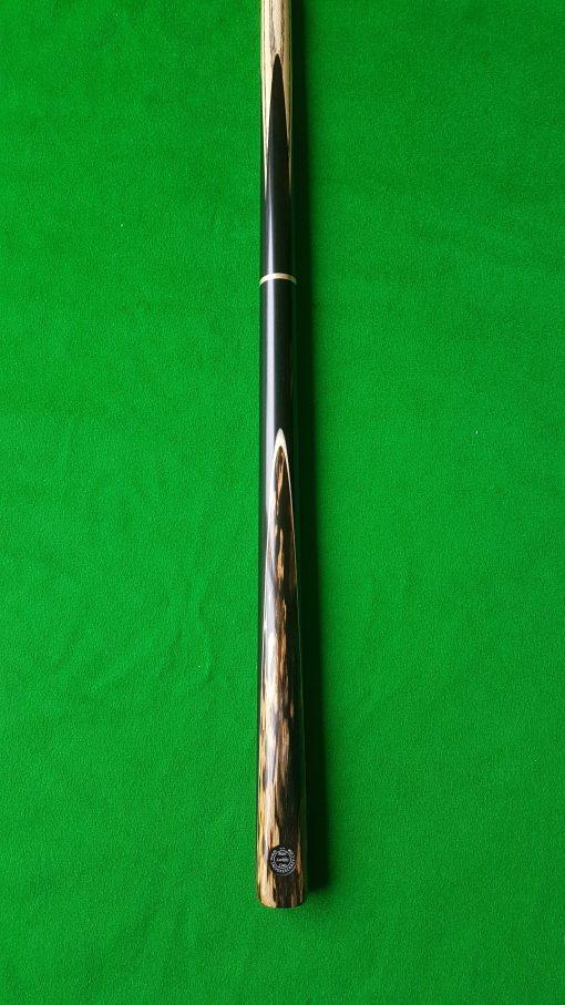 57 Three Quarter Black Foxwood Ebony Snooker Cue CBA23 2