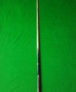 57 Three Quarter Black Foxwood Ebony Snooker Cue CBA23 4