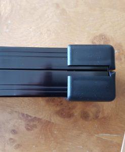 Black 1 Piece Aluminium Cue Case 3