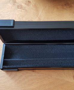 Black 1 Piece Aluminium Cue Case 4