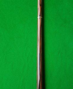 58 Three Quarter Striped Ebony Butt Snooker Cue CBA24 2
