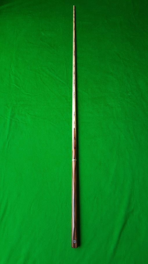 58 Three Quarter Striped Ebony Butt Snooker Cue CBA24 3