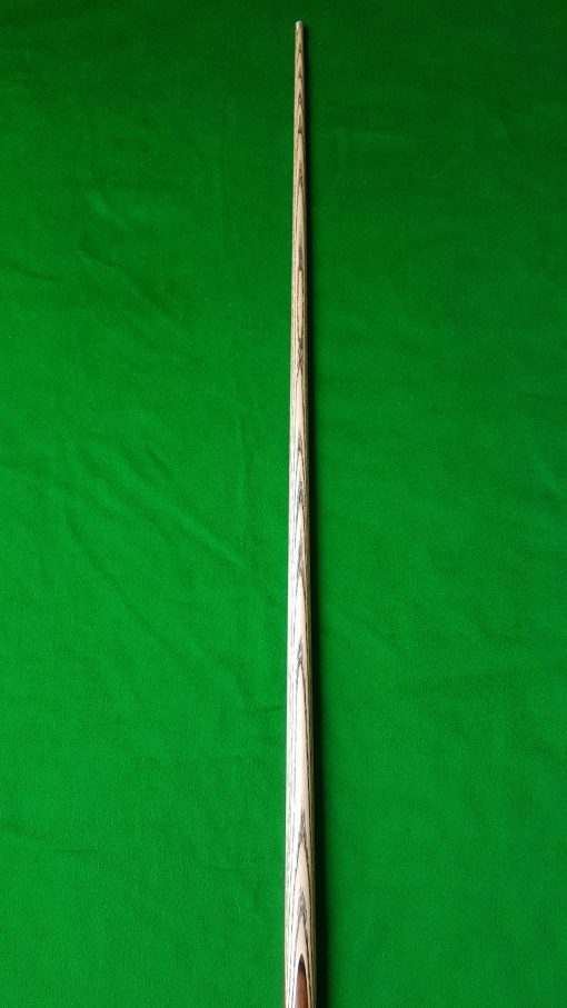 58 Three Quarter Striped Ebony Butt Snooker Cue CBA24 4