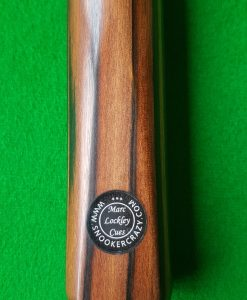 58 1 Piece Striped Ebony Snooker Cue CBA34 1