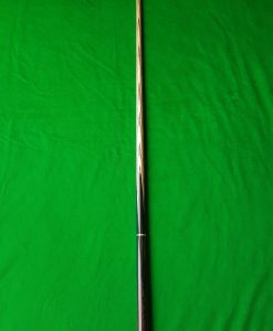 Three Quarter Black Palm Wood Snooker Cue CBA38 3