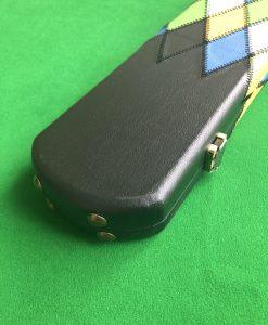 1 Piece 3 Channel Harlequin Cue Case J6107-12 3