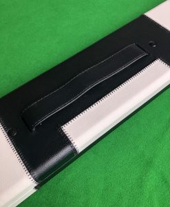 1 Piece Black and White Cue Case - J6100-3 1