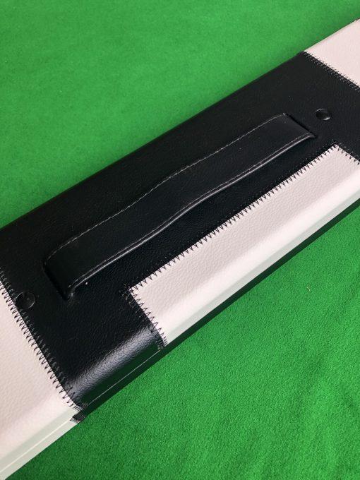 1 Piece Black and White Cue Case - J6100-3 1