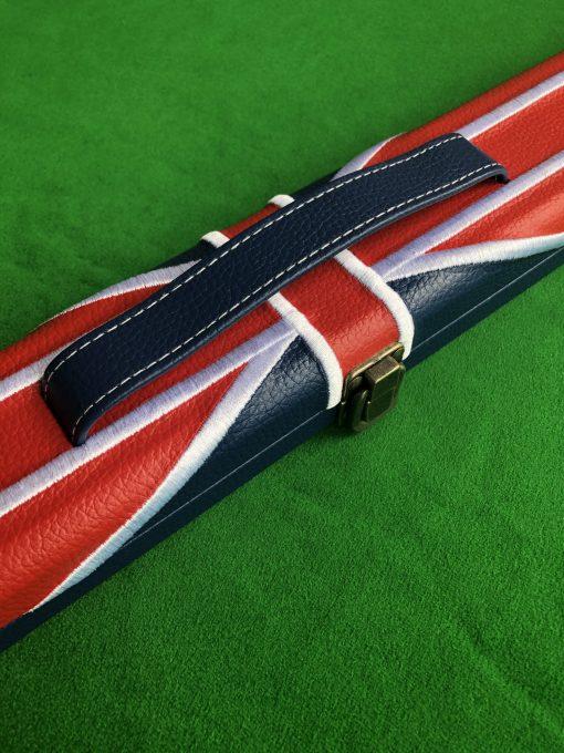 1 Piece Union Jack Flag Cue Case 1