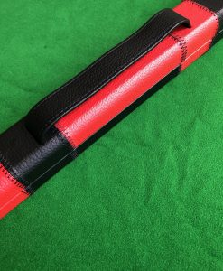 One Piece Black & Red Slim Cue Case - S12 1