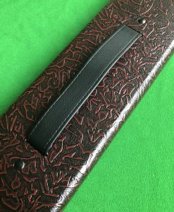 One Piece Patterned Cue Case 6100-1 1