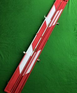 One Piece Red & White Cue Case B1 SWH 2