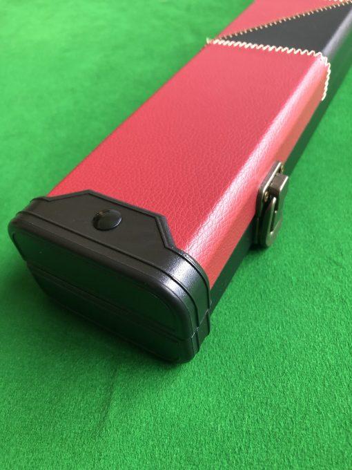 Three Quarter Black & Red Cue Case - E6106-1 4
