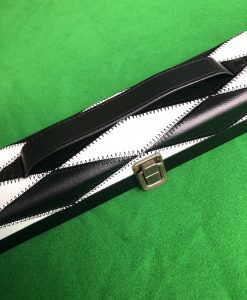 Three Quarter Black & White Cue Case - E6091 1