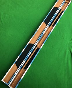 Three Quarter Blue & White Cue Case - E6111 2