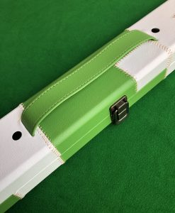 Three Quarter Green & White Cue Case - E6111-6 1