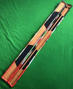 Three Quarter Harlequin Cue Case 2 Channel - E6121 2