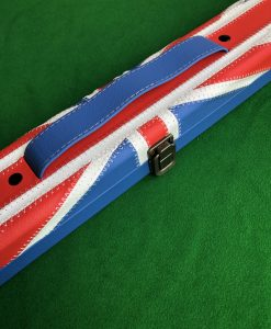 Three Quarter Union Jack Cue Case - E6107 1