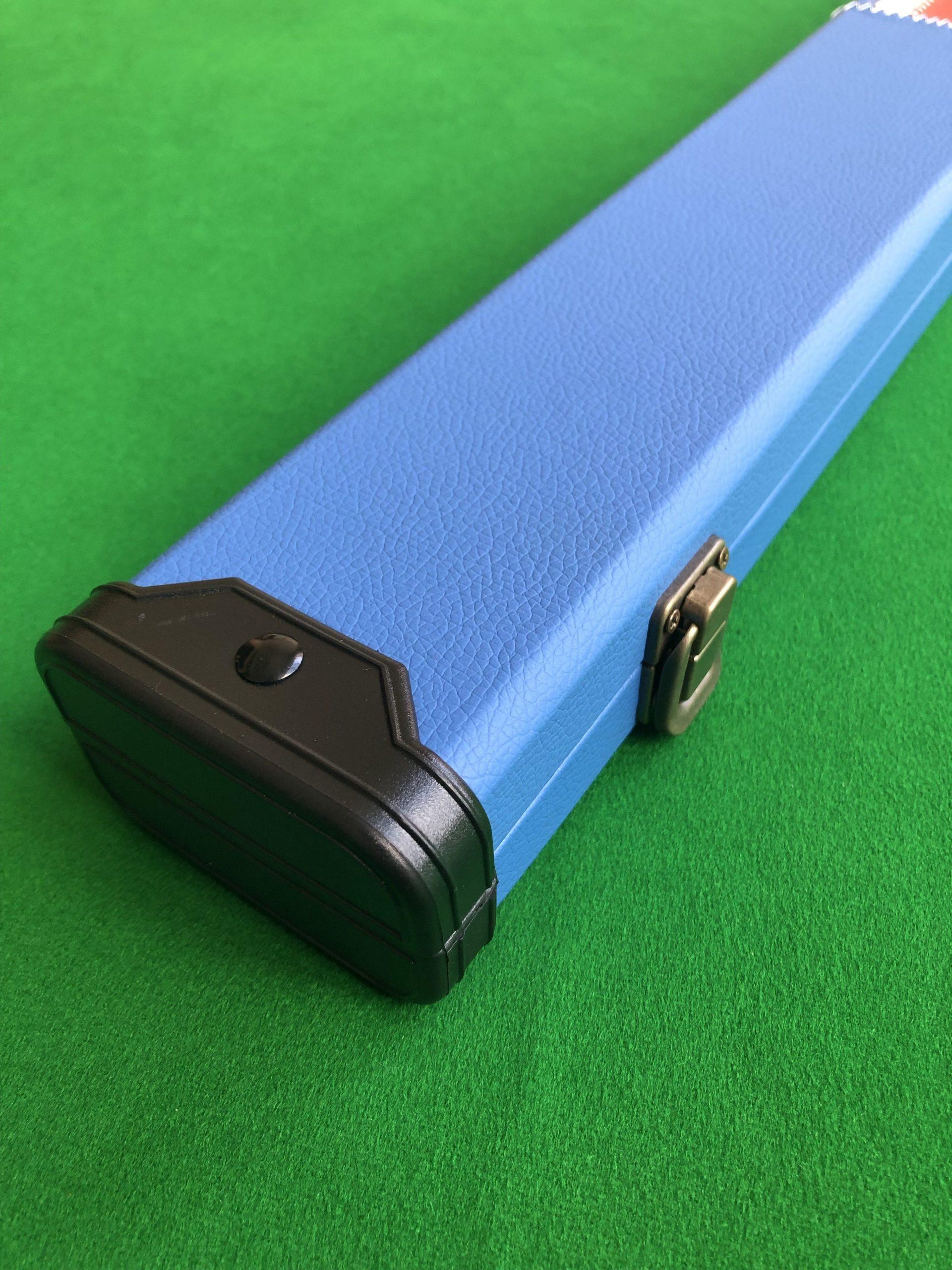 1 Piece UNION JACK DARK Professional Aluminium Snooker Cue Case Holds 2 Cues