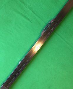1 Piece Black Aluminium Cue Case 3