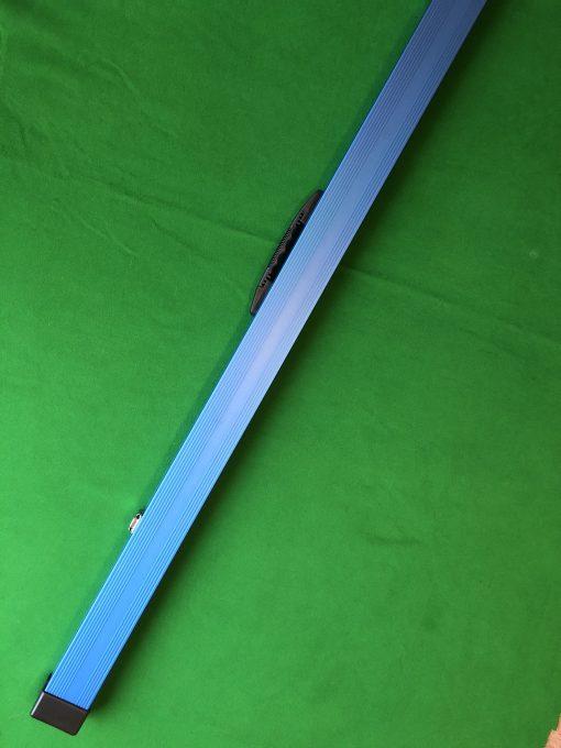 1 Piece Blue Aluminium Cue Case 2
